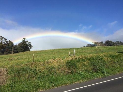 maui rainbow haleakala