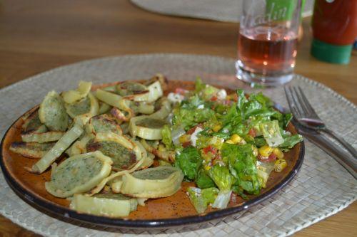 maultaschen salad lunch