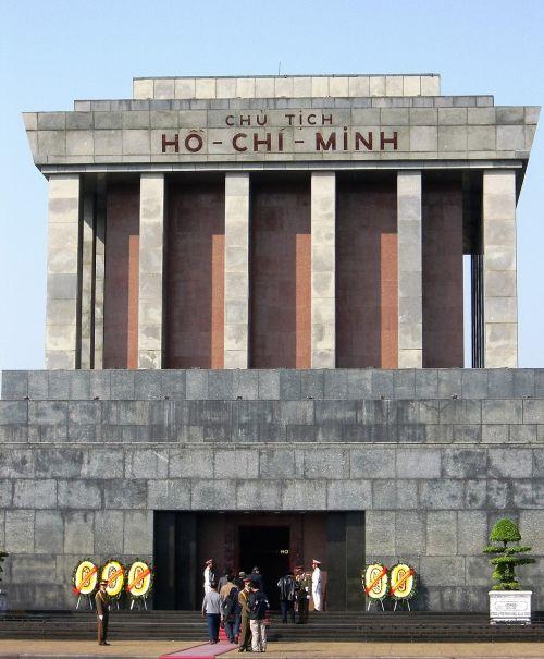 mausoleum grave hanoi