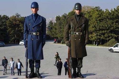 mausoleum  seizure  soldiers
