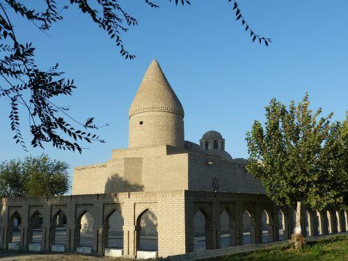 mausoleum chashma lauren hiobsquelle bukhara