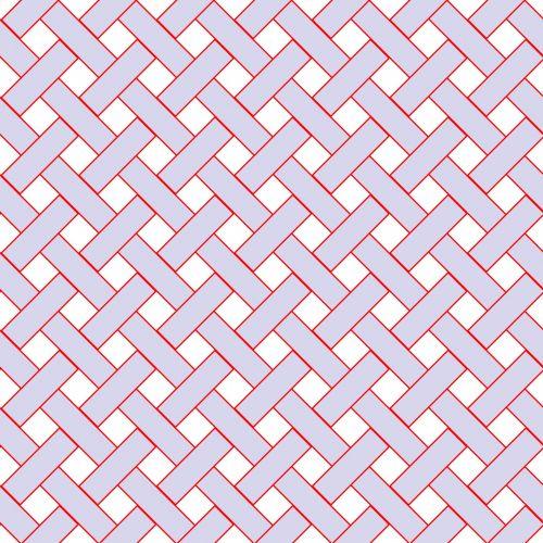 Mauve Weave Wicker Pattern