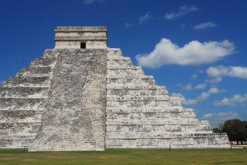 maya  mexico  pyramid