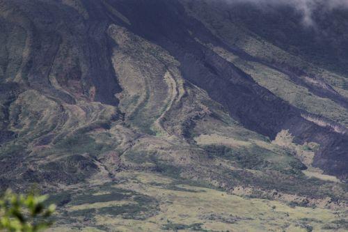 Mayon Volcano Land Texture