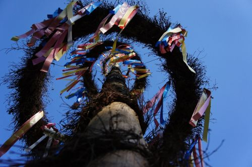 maypole flags and pennants tradition