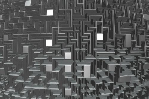 maze labyrinth wall