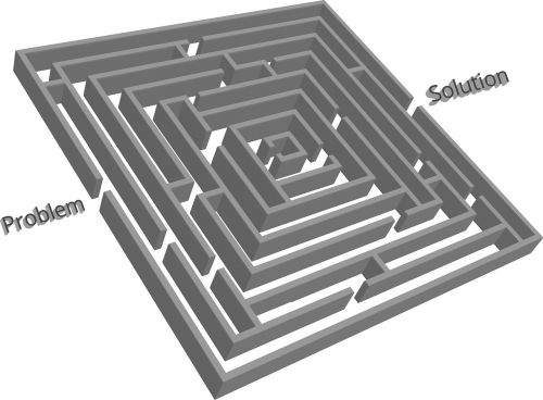 maze labyrinth geometric