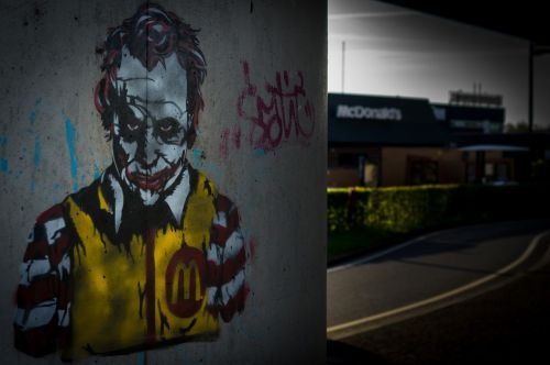 mcdonalds ronald joker