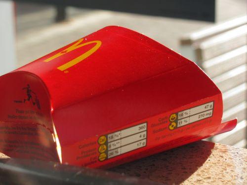 mcdonald's fries food