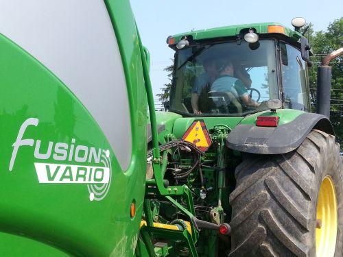 mchale baler tractor