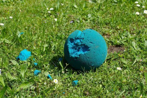 meadow ball foam ball