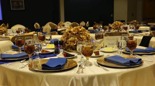 meal luncheon setting