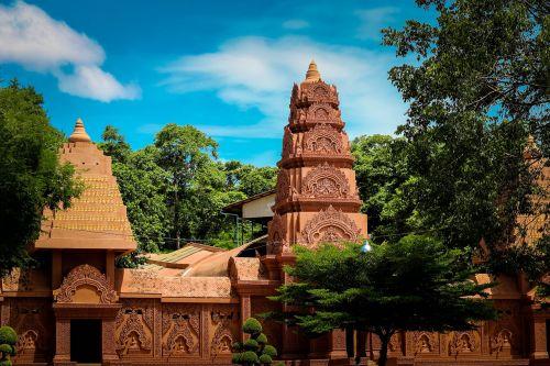 measure sky thailand temple