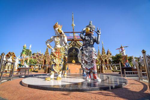 measure thailand temple thailand
