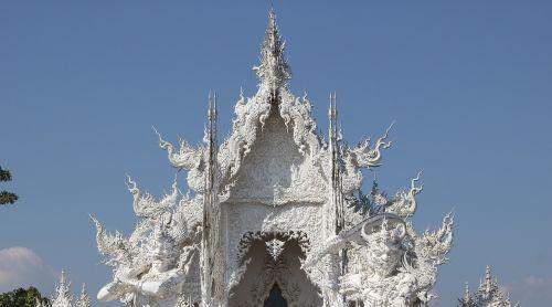 measure wat rong khun thailand temple