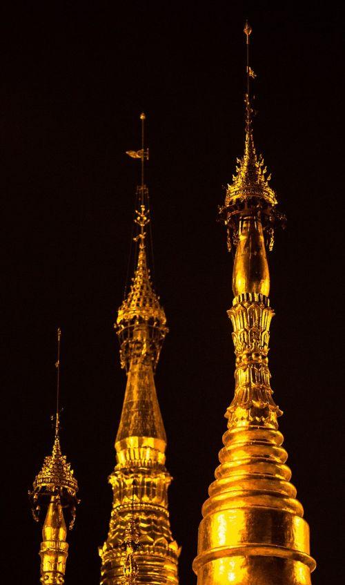 measure gold shwedagon