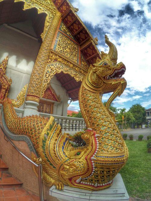 measure chiang mai thailand serpent