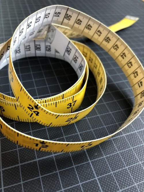 measuring tape sewing