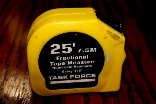 measuring tape task force carpentery