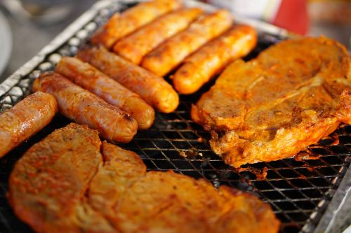 meat barbecue eat