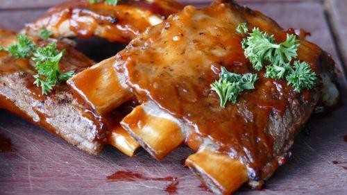 meat ribs eat