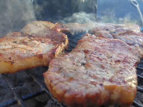 meat food grilling