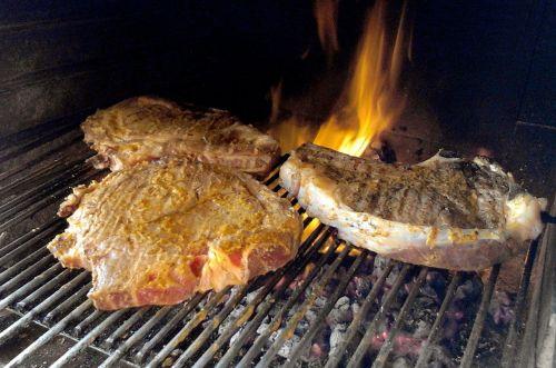 meat roast cook