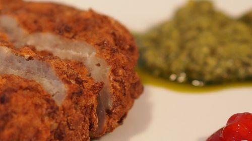 meat kane pesto