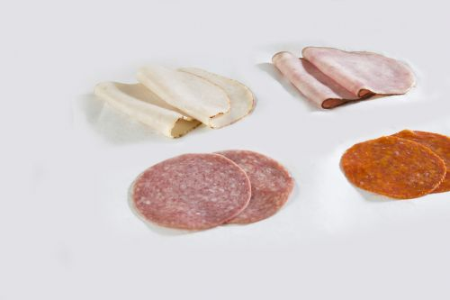 meat slices food
