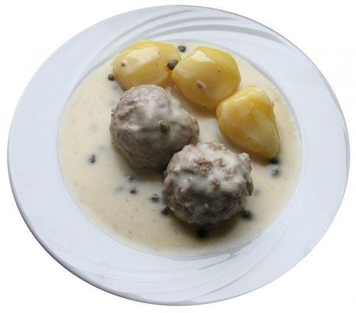 meatballs cooking meatballs soßklopse