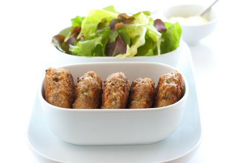 meatballs minced meat fried