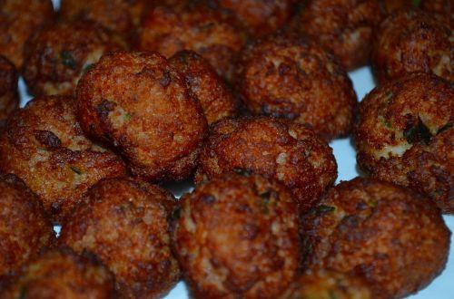meatballs fried salento aradeo