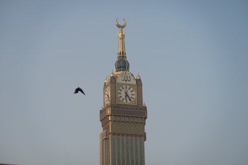 mecca  zamzam tower  tower