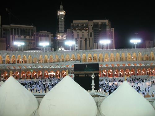 mecca night muslim