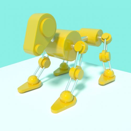 mechanical animal dog