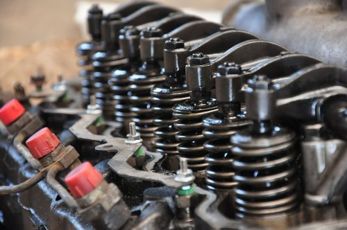 mechanics engine springs