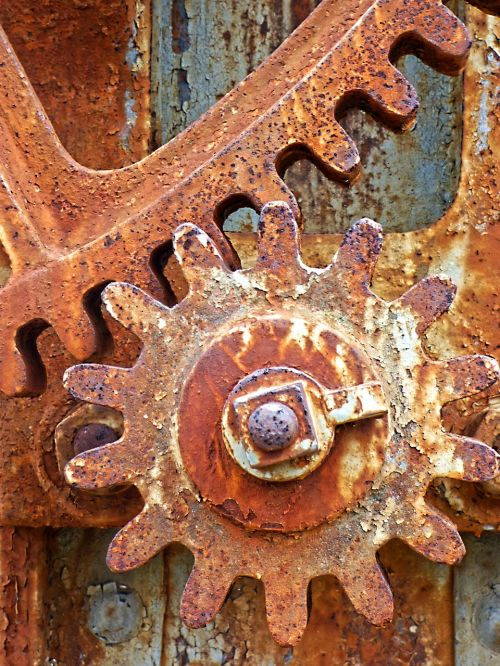 mechanism detail background