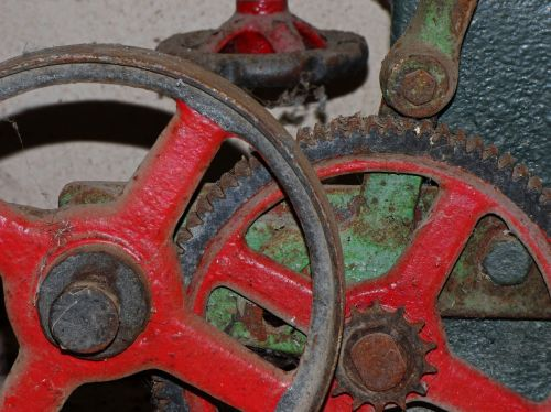 mechanism gear machine