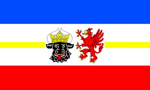 mecklenburg-west pomerania flag mecklenburg-vorpommern