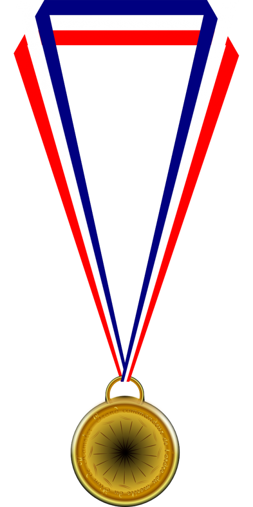 medal medallion winner