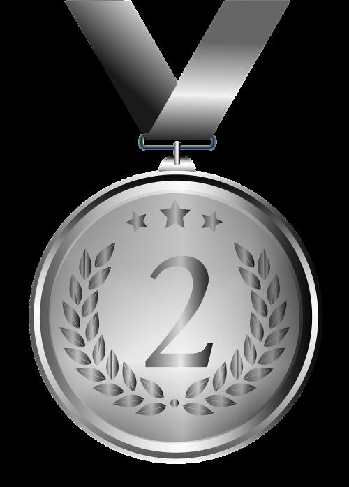 medal silver design
