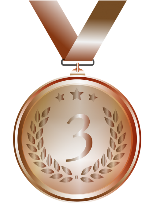 medal bronze design