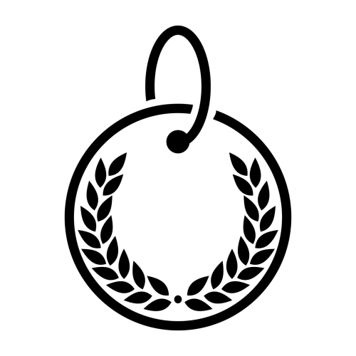 medal vector graphics transparent background