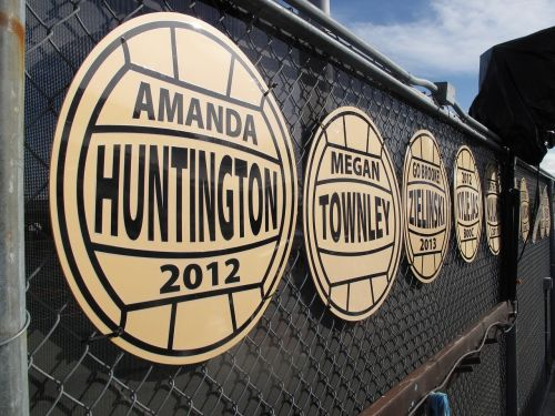 medallions wall signage awards