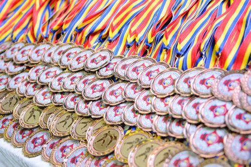 medals karate sport