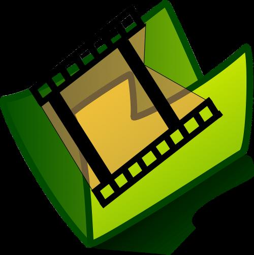 media icon folder