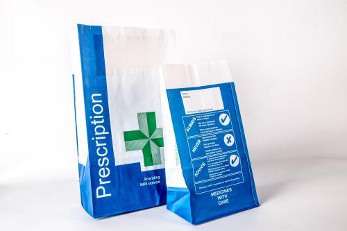 Medical Supplies Paper Bag
