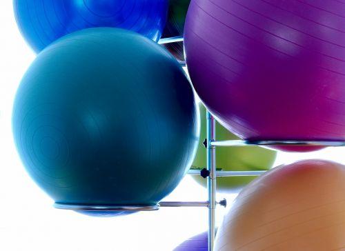 medicine ball ball gymnastics