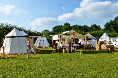 medieval camp tents