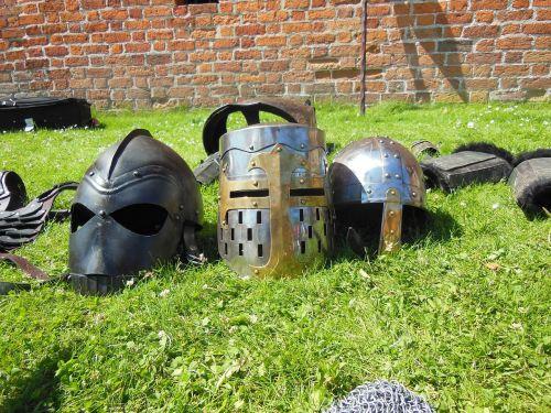 medieval knight helmets barrel helmet